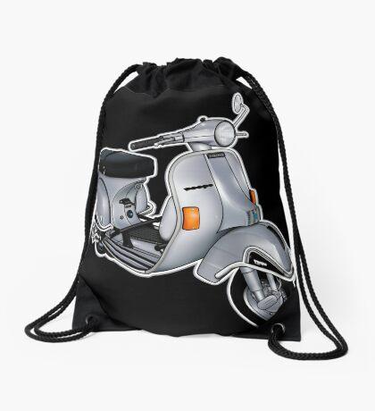 Scooter T-shirts Art: P200e vintage scooter Drawstring Bag