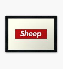 Sheep - Parody Framed Print