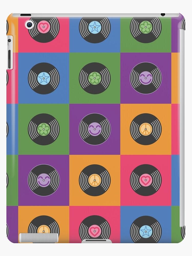 Multicolor Vinyl-Schallplatten von ClassicFlower