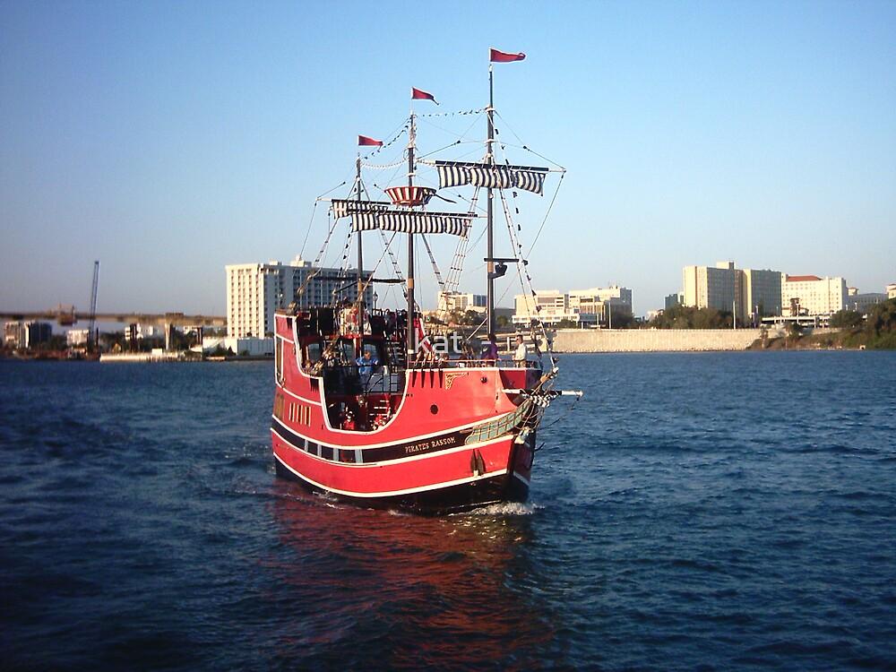 Pirate Ship by kat  -