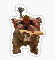 Pizza Dog Sticker