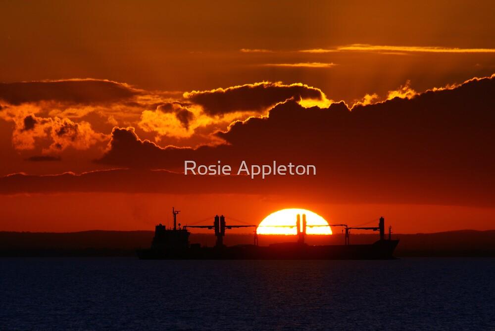 Red Sunset by Rosie Appleton