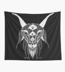 5 Eyes of Satan Wall Tapestry