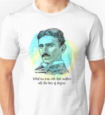 Nikola Tesla - Law of Physics T-Shirt