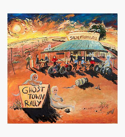 The Ghost Town Rally Photographic Print