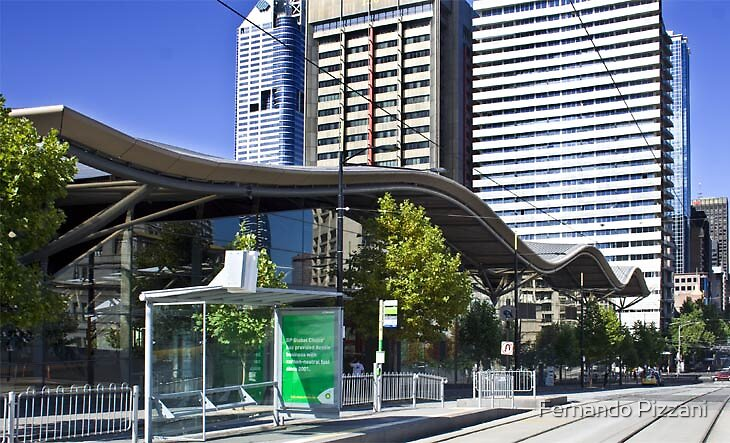 Southern Cross Station Melbourne by Fernando Pizzani
