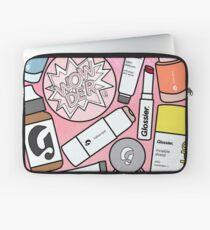 Glänzender Laptoptasche