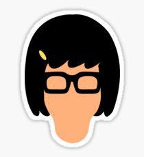 Tina Head Sticker