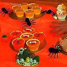 Spiders and Cakes . by Forfarlass