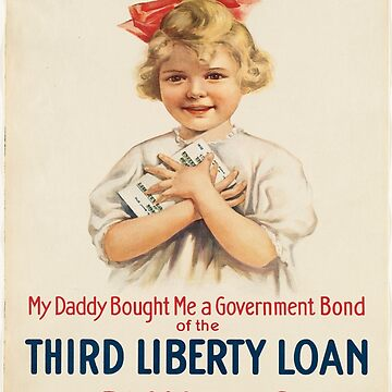 Vintage poster - Third Liberty Loan by mosfunky