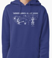 The Aerodynamics of a Basset Hound Pullover Hoodie