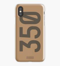 Yeezy Boost 350 Box Illustration  iPhone Case