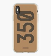 Yeezy Boost 350 Box Illustration  iPhone Case