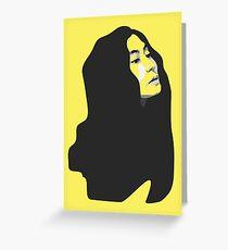 Yoko Ono - Pop Style Greeting Card