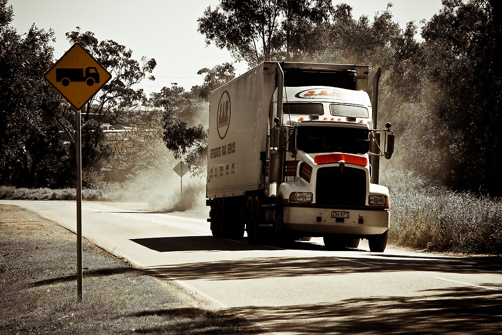 Road Train by Lance Jackson
