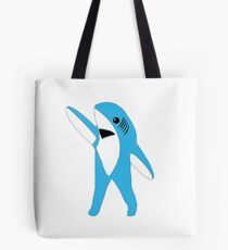 Left Shark Super Bowl Half Time Dancing Shark 2015 Tote Bag