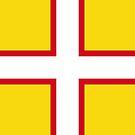 Dorset Flag Phone Cases by mpodger