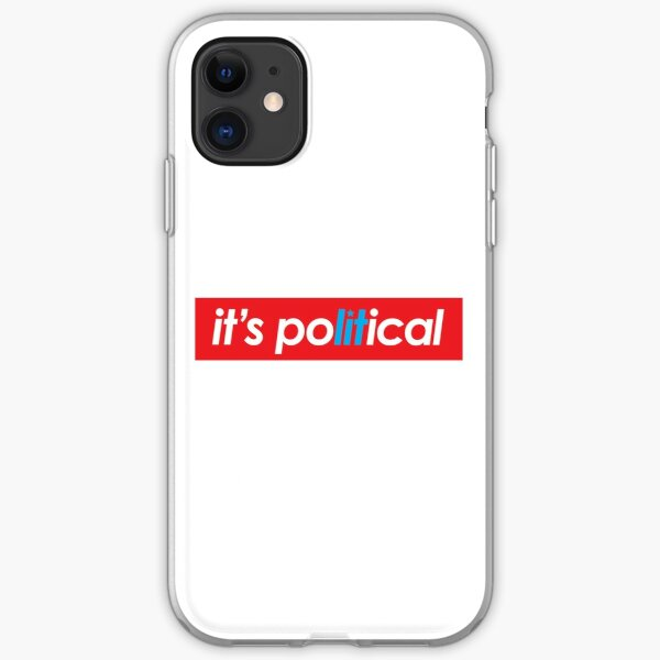 it's poLITical iPhone Soft Case
