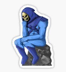 The Skeletor Sticker
