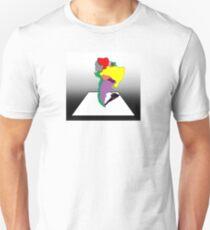 Anamorphic South America Unisex T-Shirt