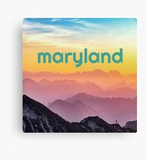maryland mountains Canvas Print