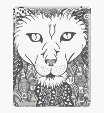 Lion - Doodle Art iPad Case/Skin