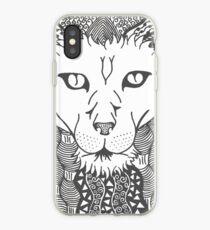 Lion - Doodle Art iPhone Case