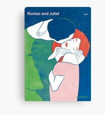 Romeo and Juliet - William Shakespeare Canvas Print