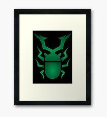 Escarabajo Weevil Underwood - YU-GI-OH Framed Print