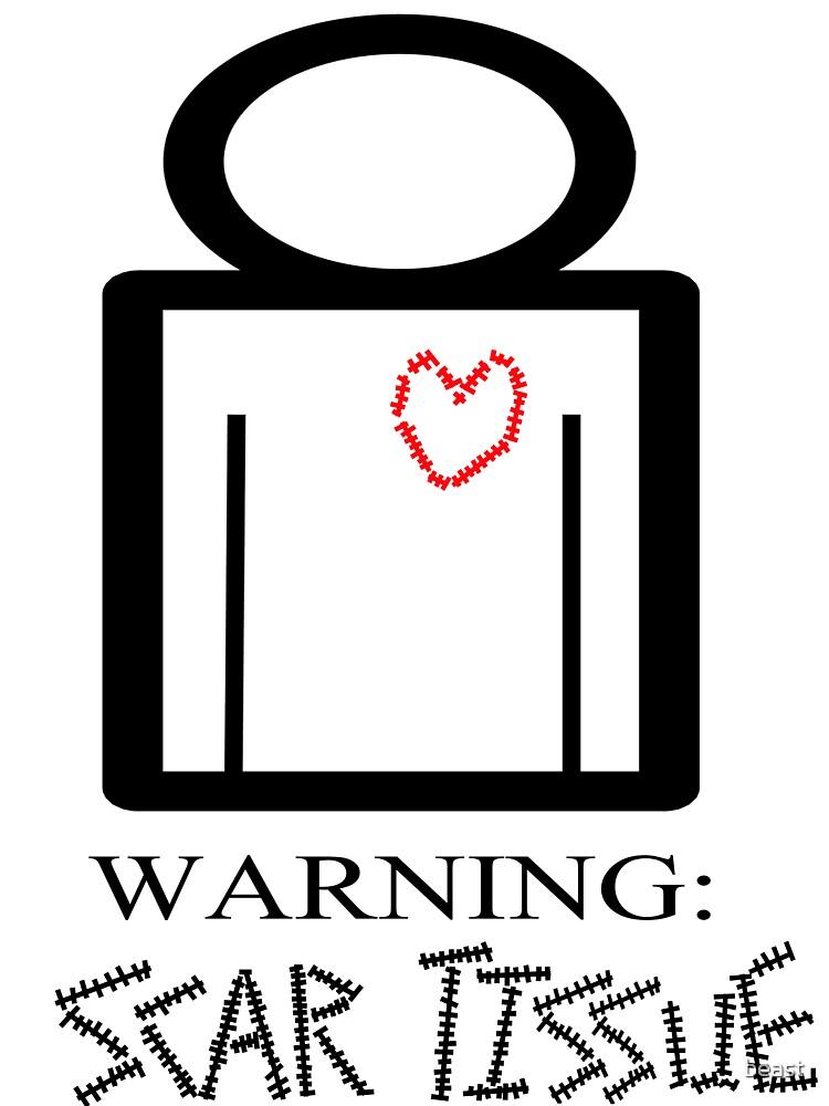 Warning by beast