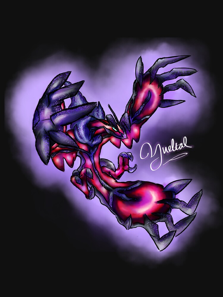Yveltal - Pokemon Y Legendary (Light Text) by Sulupy