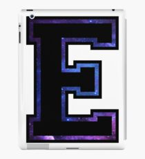 """E"" Varsity Letter iPad Case/Skin"