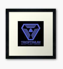 TriOptimum Corporation | Purple Framed Print