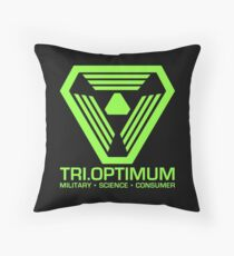 TriOptimum Corporation Throw Pillow