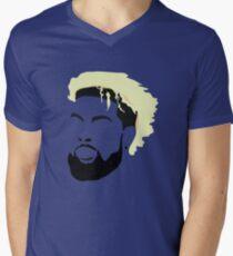 Odell Beckham Silhouette Men's V-Neck T-Shirt