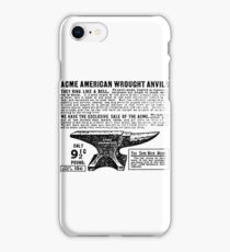 ACME - Anvils iPhone Case/Skin