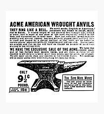 ACME - Anvils Photographic Print