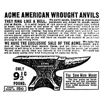 ACME - Anvils by disneylander11
