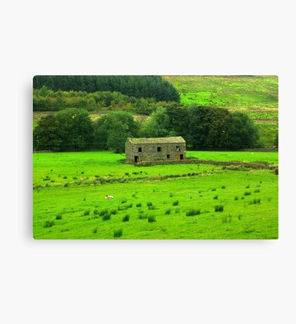 Dales Barns #2 Canvas Print