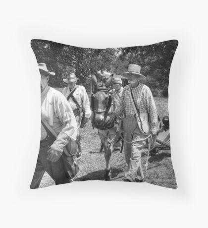 FIELD ARTILLERY Throw Pillow