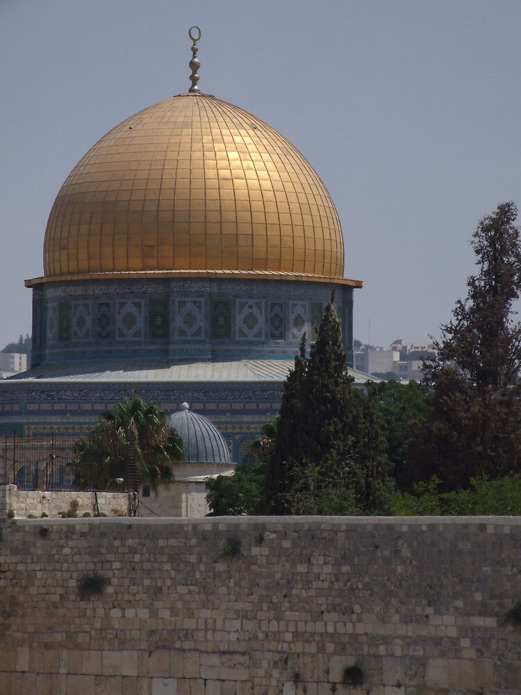 Temple Mount by Flavia Di segni