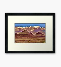 Desolation! Framed Print