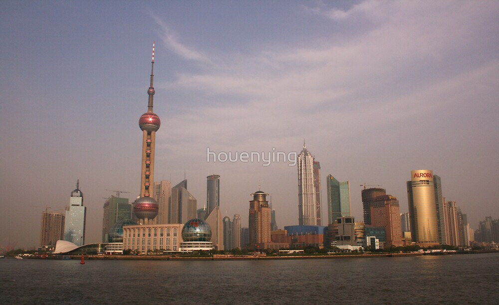 The Shanghai beach by houenying