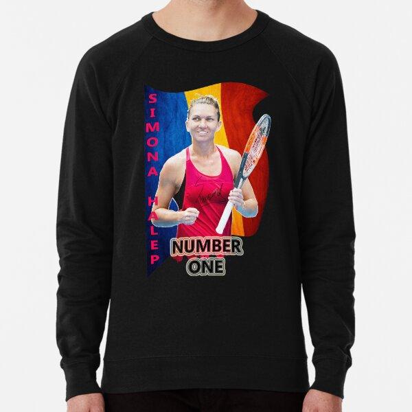 Simona Halep N. 1 Lightweight Sweatshirt