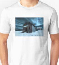 Infrared Abandoned Barn - Scott, AR Unisex T-Shirt