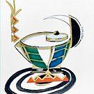 Tea Cozy in Retro-great Collage by Alma Lee