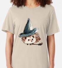 Hedgehog Witch Slim Fit T-Shirt