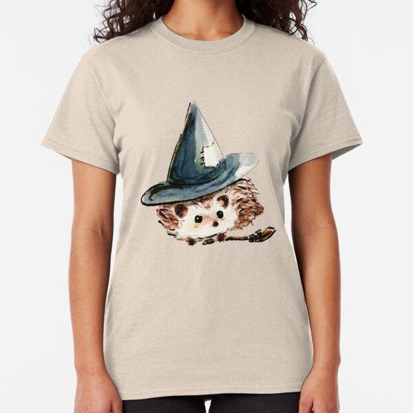 Hedgehog Witch Classic T-Shirt