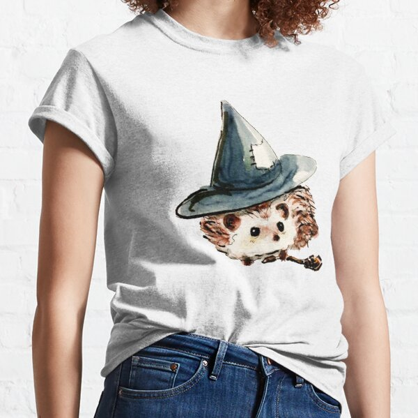 Hedgehog Witch Classic T-Shirt