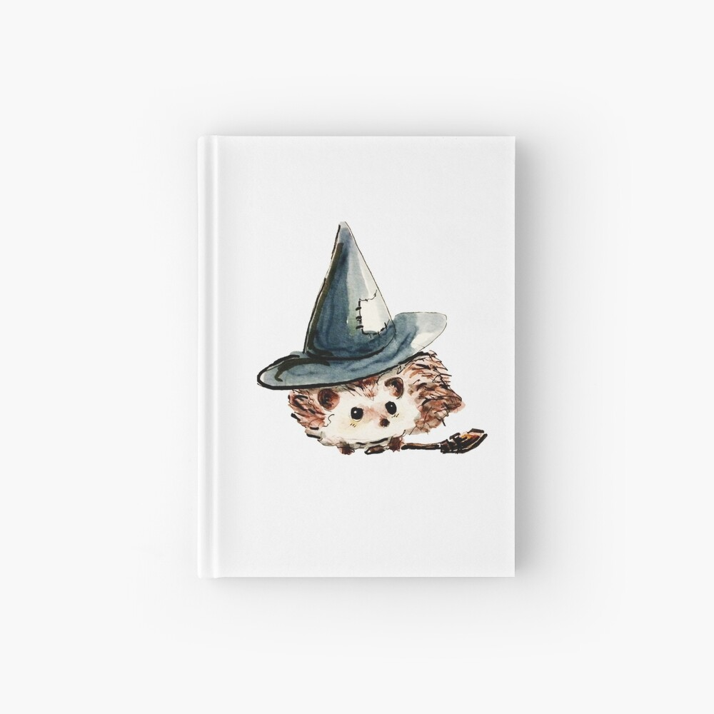 Hedgehog Witch Hardcover Journal